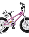 BICICLETA CON RUEDITAS ROYAL BABY  ARO 16
