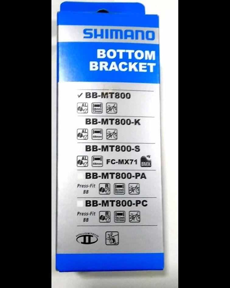 CUBETA MOTOR SHIMANO XT BB-MT800
