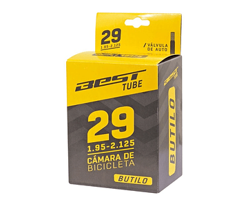 CAMARA BEST 29 X 1.95 / 2.125 BUTILO VALVULA AUTO 48 MM