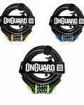 CANDADO ONGUARD ESPIRAL NEONS 180 X 12  CON CLAVE