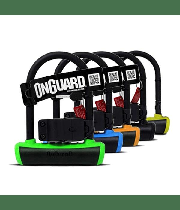 CANDADO ONGUARD U-LOCK NEONS MINI 90 X 140