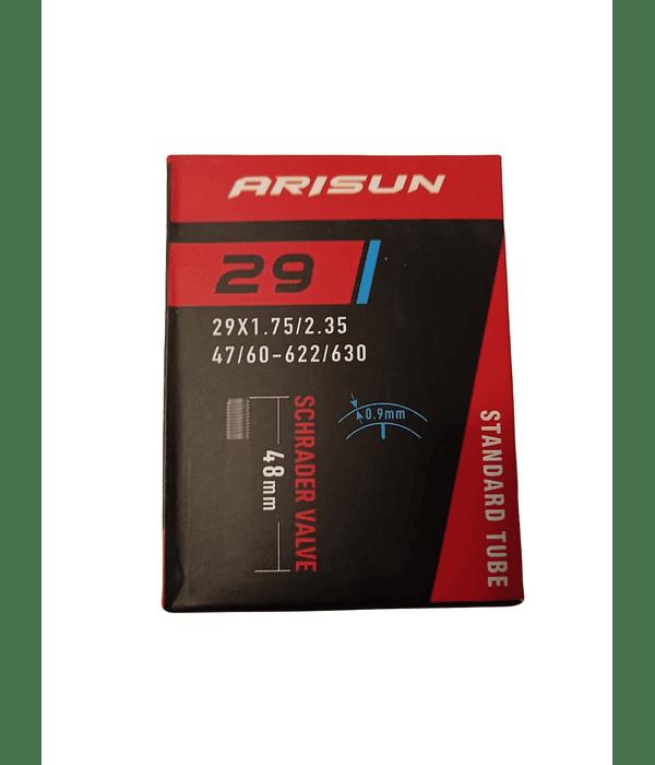 CAMARA ARISUN 29 X 1.75 / 2.35 VALVULA AUTO 48 MM