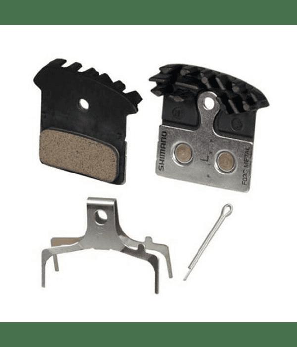 PASTILLA FRENO SHIMANO BR-M985 METAL CON DISIPADOR (F03C) W/FIN &A