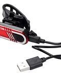 LUZ TRASERA HJ-040 RECARGABLE USB 60 LUMENS