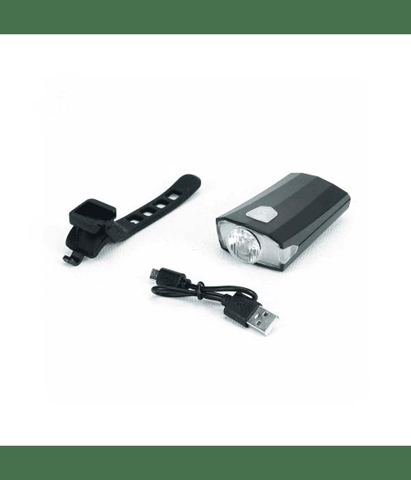 LUZ LED DELANTERA USB RECARGABLE 200 LUMENES AQY-098