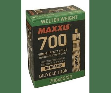 CAMARA RUTA URBAN 700X25/32C MAXXIS WELTERWEIGHT RVC(PRE) 48MM