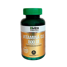 VITAMINA D3 800UI 60 COMP