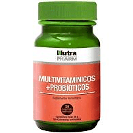 MULTIVITAMINICO + PROBIOTICOS 30COMP MASTICABLES