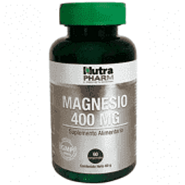MAGNESIO 400mg 60COMP NUTRA