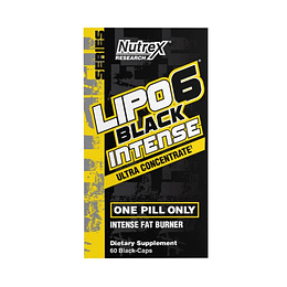 LIPO 6 BLACK INTENSE 60 CAPS