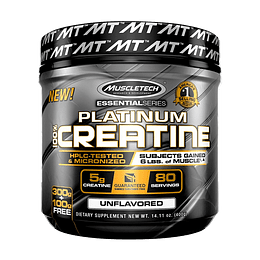 Platinum 100% Creatina 400GRS