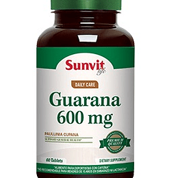 Sunvit GUARANA 600mg 60 TABS