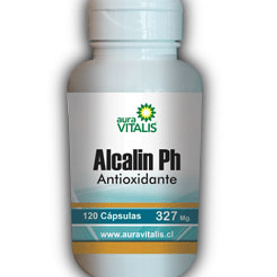 Aura Vitalis ALCALIN PH 120 CAPS