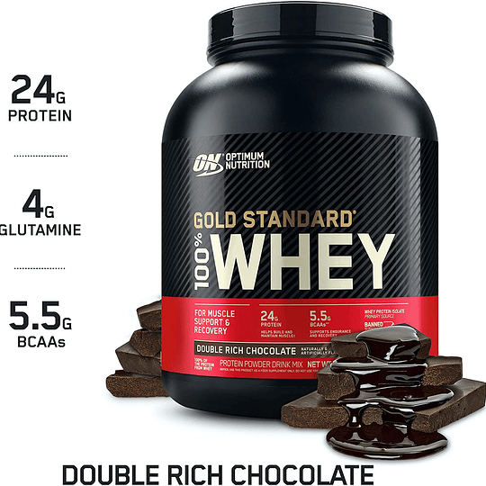 100% WHEY PROTEIN Gold Standard 2 LBS