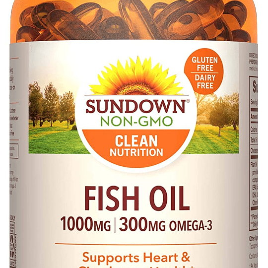Fish Oil 1000 mg 144 CAPS SOFT