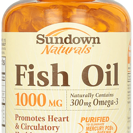 Fish Oil 1000 mg 200 CAPS SOFT