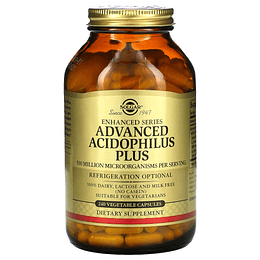 Probioticos advance acidophilus plus 120 CAPS