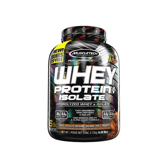 MUSCLETECH Whey Protein ISOLATE 6 LBS CHOCOLATE