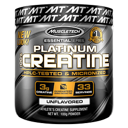Platinum 100% Creatina 100 GRS