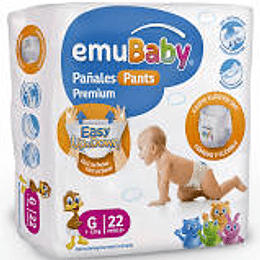Emubaby Pañal pull up Talla G 22 UNDS