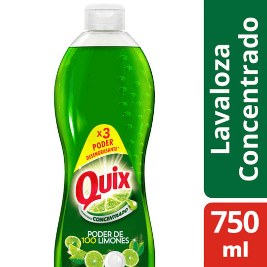 Quix lavalozas 750ml
