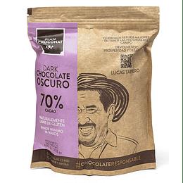 Chocolate 70% Cacao 420 grs