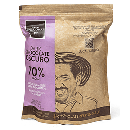Chocolate 70% Cacao 420 grs