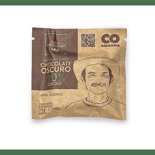 Chocolate 80% Cacao 20 grs