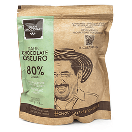 Chocolate 80% Cacao 420 grs