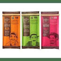Chocolates Combo Sabores 3 x 65 grs