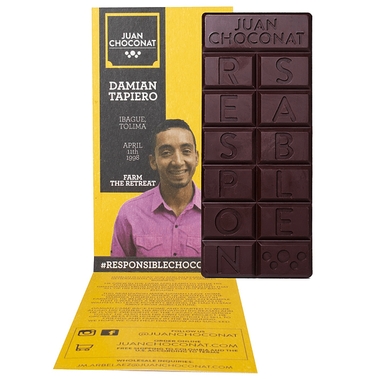 Chocolate Uchuva 56% Cacao 65 grs