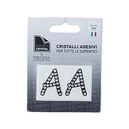 Cristales adhesivos letras