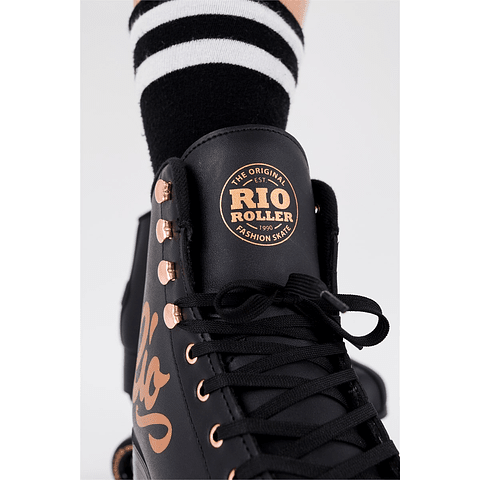 Rio Roller Rose Black Quad Niños