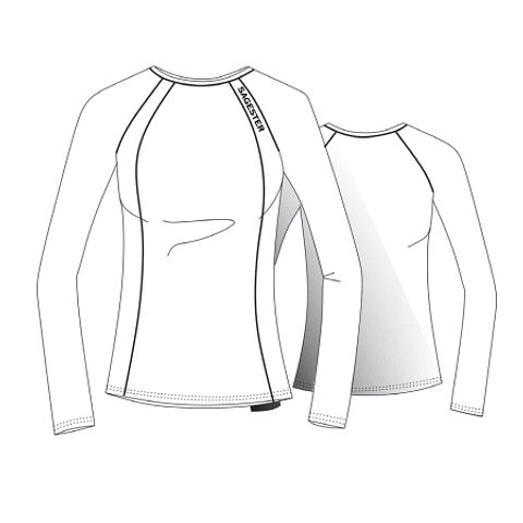Jersey de manga larga en microfibra 060