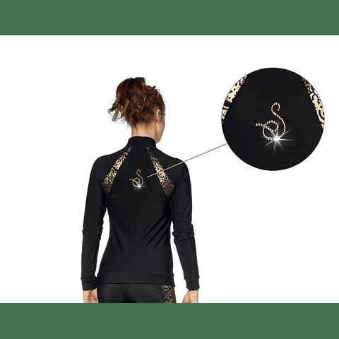 Giacca Termico Negro/Oro 238