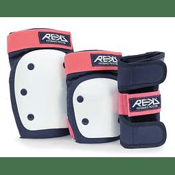 Proteccion Duty Triple Pad Set Blue Pink
