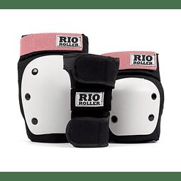 Proteccion Duty Triple Pad Set Black Rose