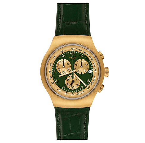 Swatch Green Gold