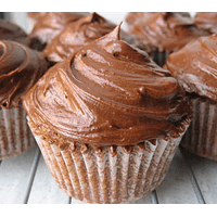 Mousse de chocolate Cupcake