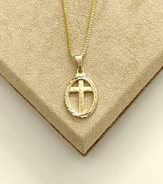 Colar Jesus na Cruz