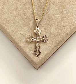 Colar Cruz Cristo