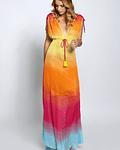 Vestido fluído em malha - SAHOCO