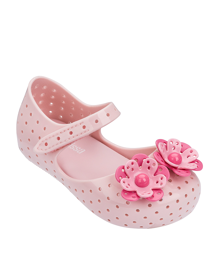 Sapato Furadinha Flower - Mini Melissa