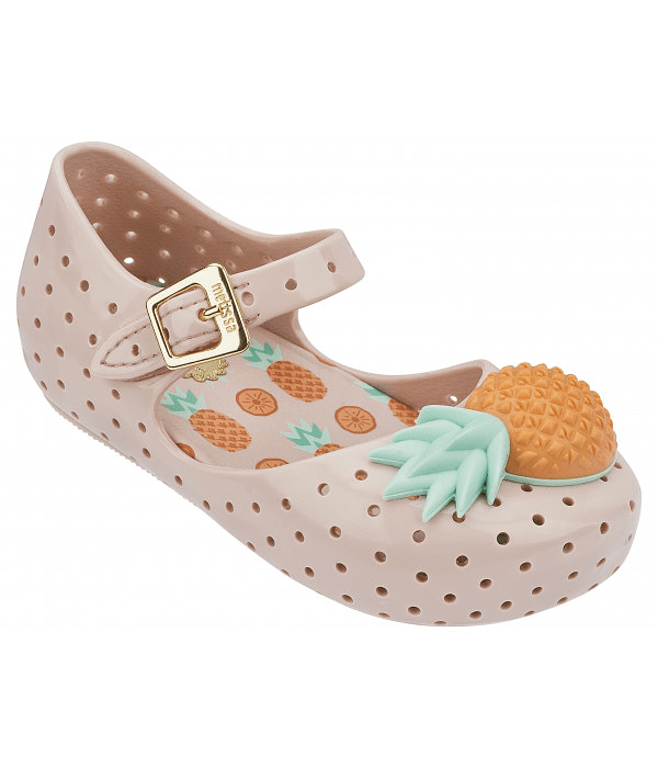 Sapato Ananás Furadinha VI - Mini Melissa