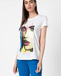 T-shirt Print Eye Catcher- Guess