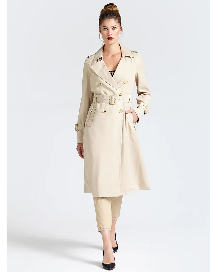 Trench coat com botões - Guess