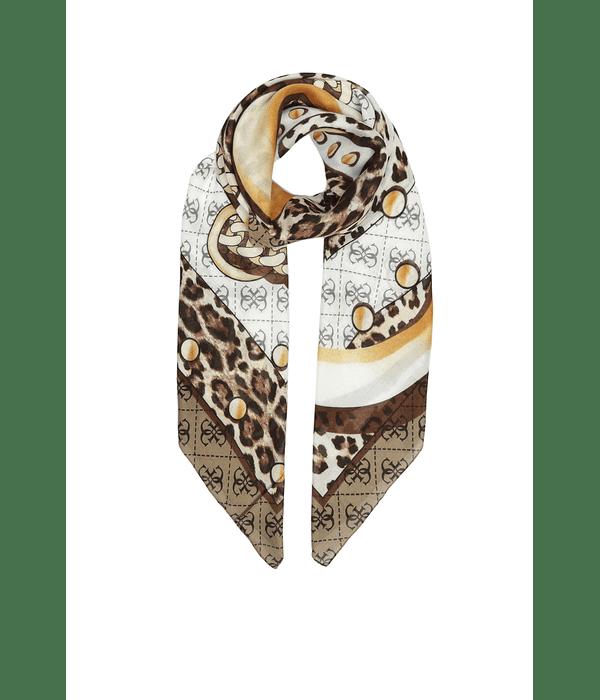 Lenço Quadrado Animal Print - Guess