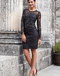 Vestido Renda com Lantejoulas - SAHOCO