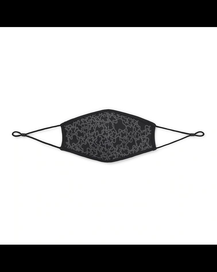 Máscara Reutilizável Kaos Mini Preto - Tous