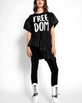 Vestido Freedom com Sobreposição - SAHOCO